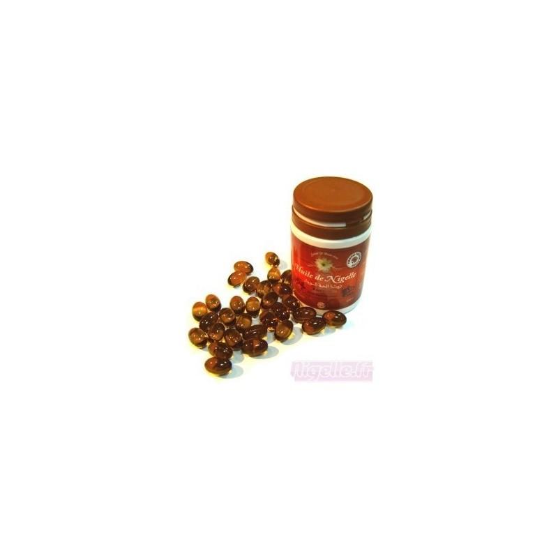 3 X boîtes (60) Les capsules CHIFA a l'huile de nigelle (Habba sawda)