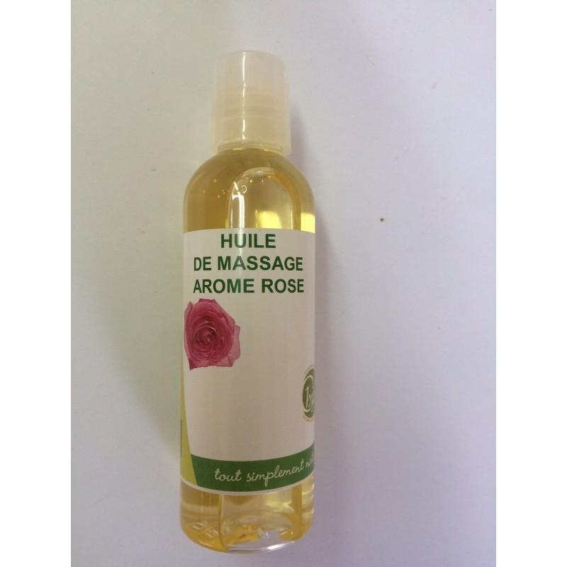 Huile de massage Arome Rose 100ml