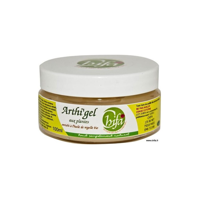 ARTHI'GEL, Gel Articulaire a l'huile de nigelle