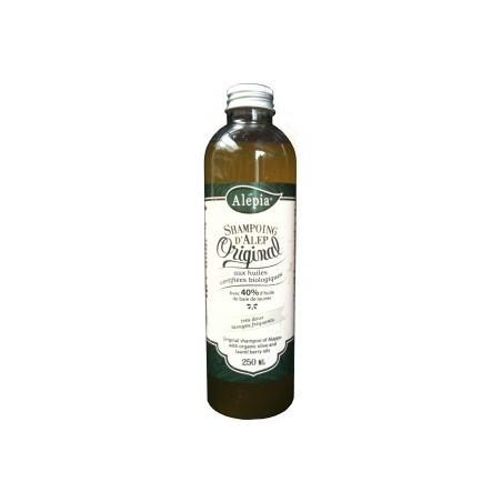Shampoing d'Alep Original 40% d'huile de baie de laurier certifiée BIO