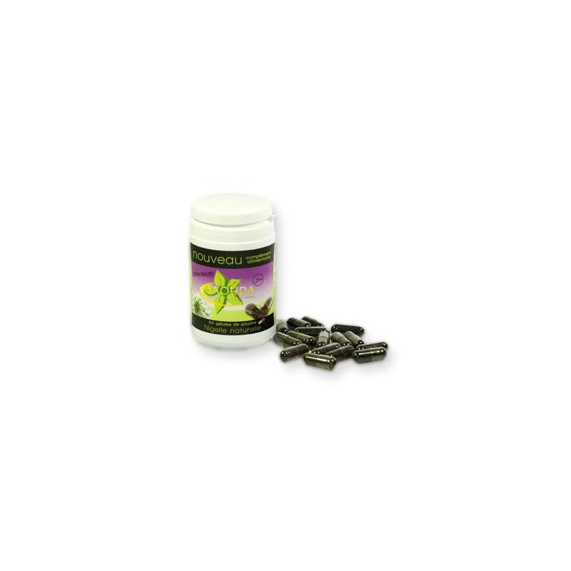 60 gélules végétales de poudre de nigelle