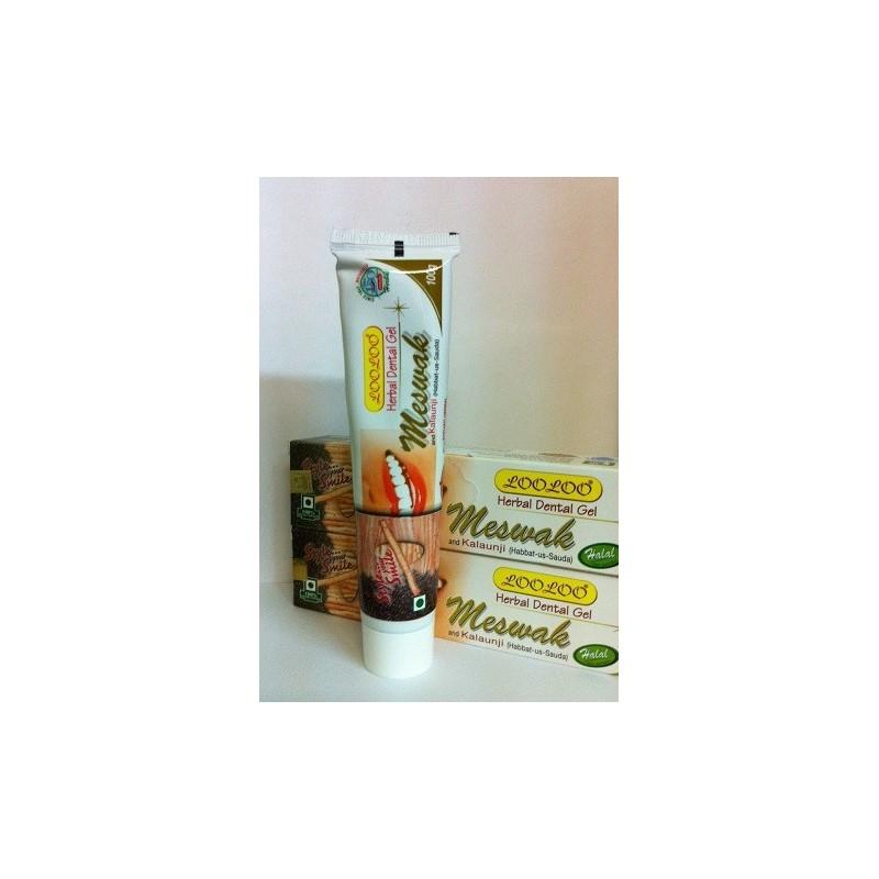 Dentifrice-Herbal au Miswak et a la nigelle