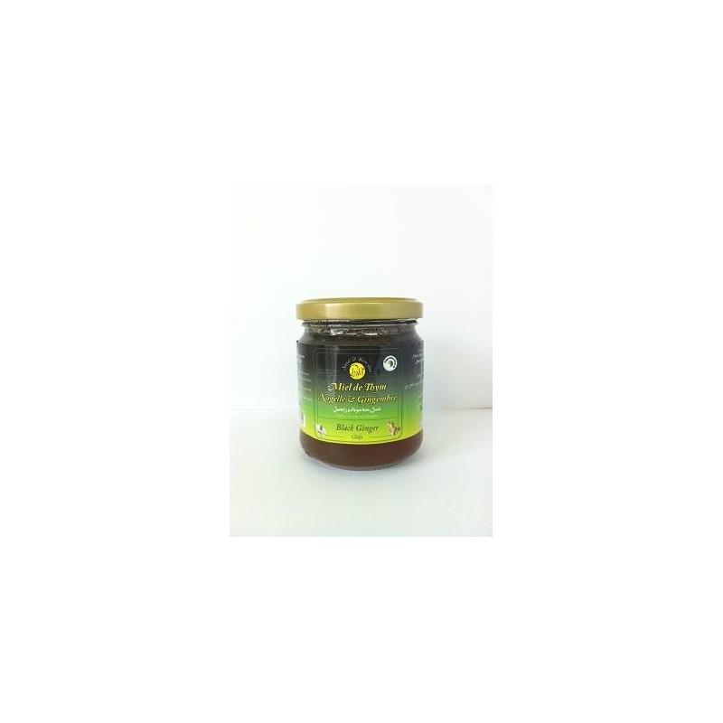 Miel ,Gingembre et Nigelle 250 gr
