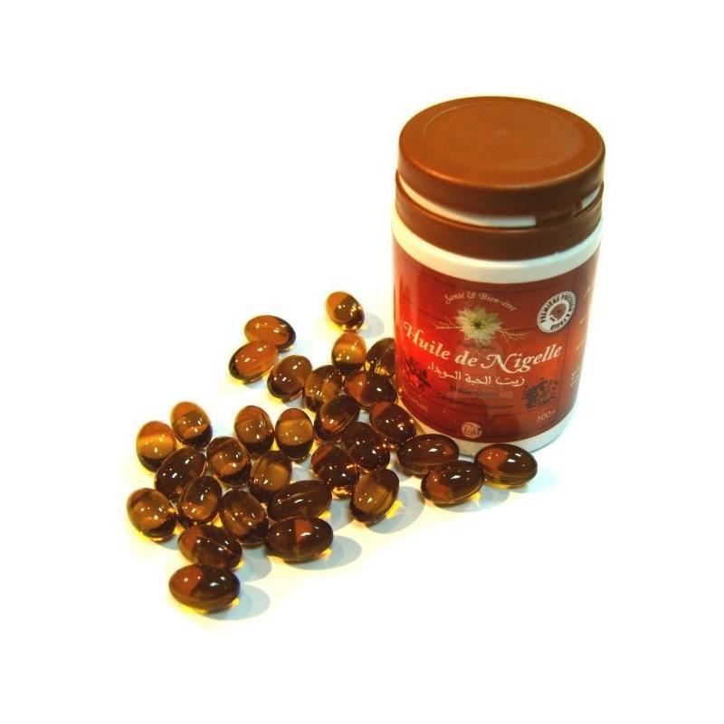 12 X Boites 60 Capsules a l'huile de nigelle (nigella sativa)