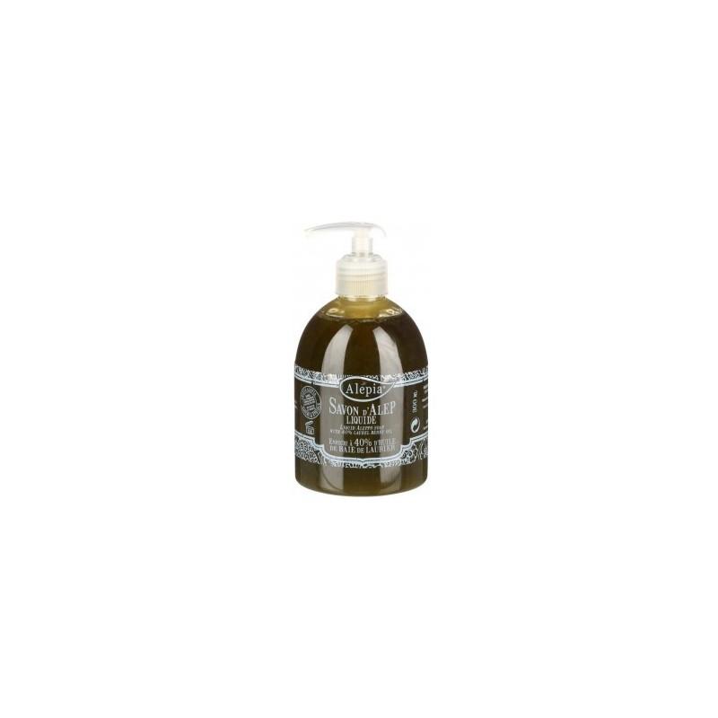 Savon d'Alep liquide Premium 40% laurier 300 ml