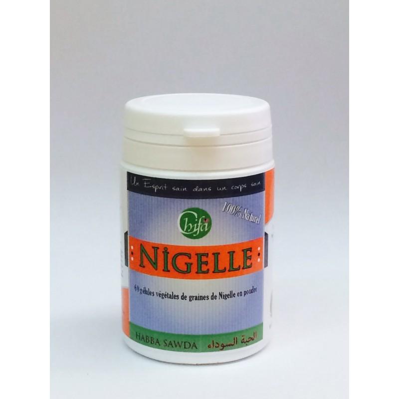 3 X boîtes Gélules végétales de graines de Nigelle en poudre