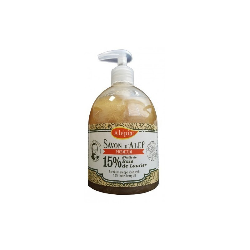 Savon d'Alep Authentique 40 % 500 ml